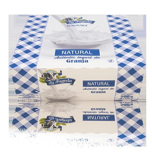 Iogurt Natural (125 g x4) La Fageda