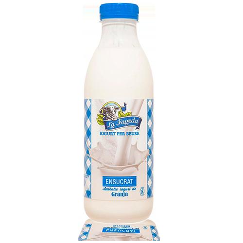 Iogurt per Beure Ensucrat (650 ml) La Fageda