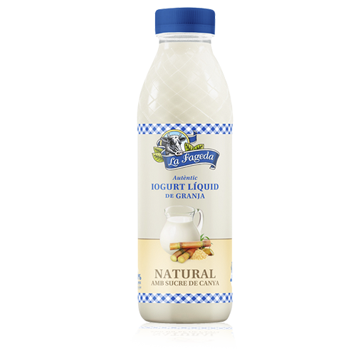 Iogurt per Beure amb sucre de Canya 550ml La Fageda