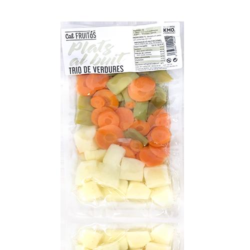 Patata, Judía y Zanahoria cocida (300g) Cal Fruitós