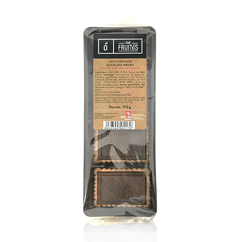 Galeta Petit Xevalier Xocolata Negra (150 g) Cal Fruitós