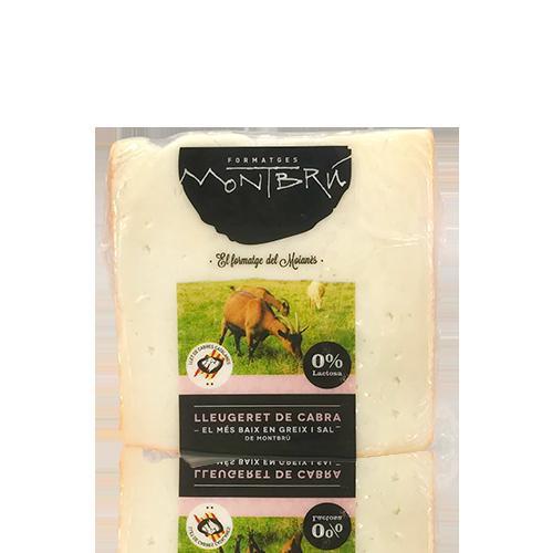Queso de Cabra Desnatado (180 g) Montbrú