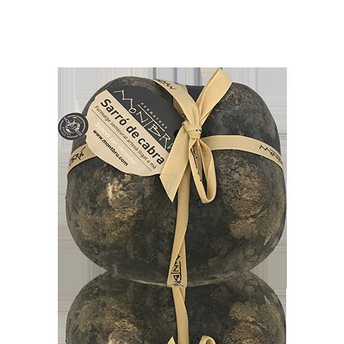 Queso de Cabra Semicurado Zurrón Montbrú (1 kg aprox)