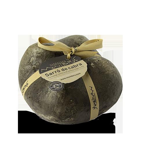 Formatge de Cabra Semicurat Sarró Montbrú (1 kg aprox) UNITAT