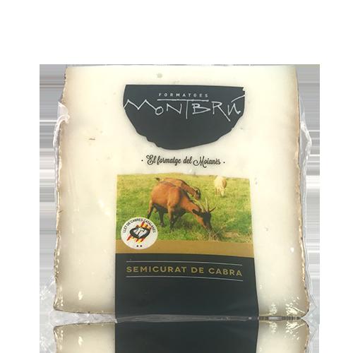 Queso de Cabra Semicurado Garrotxa (180 g) Montbrú