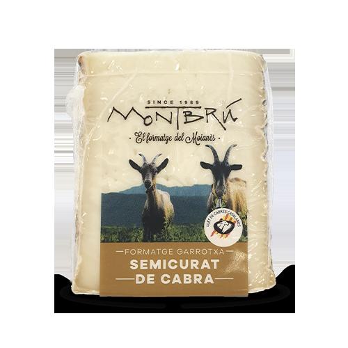 Formatge de Cabra Semicurat Garrotxa (180 g) Montbrú