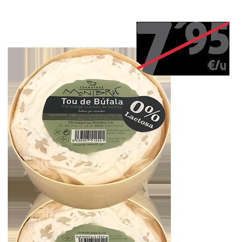 Queso de Búfala de Pasta Blanda (250 g) Montbrú