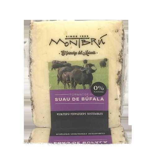 Formatge de Búfala Semicurat Suau (180 g) Montbrú