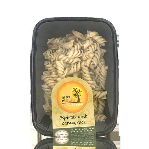 Espirals amb Camagrocs (250 g) Mas el Guiu