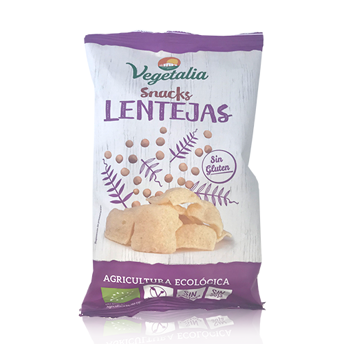 Snacks Lentejas (45 g) Vegetalia