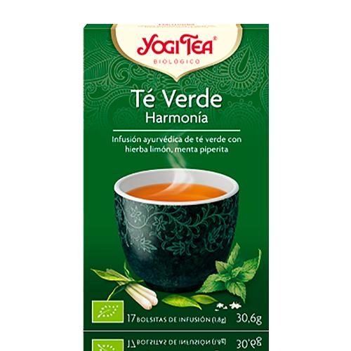Infusió Te Verd amb Menta Harmonia Yogi Tea
