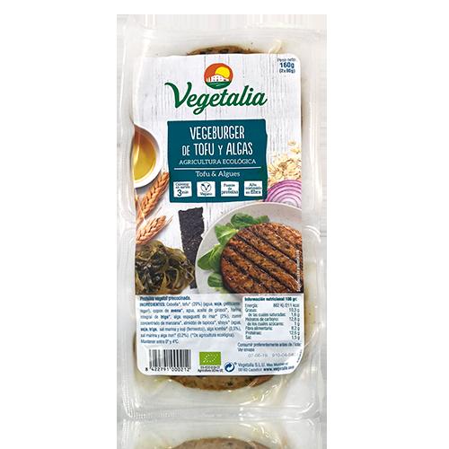 Vegeburguer Tofu y Algas (160 g) Vegetalia