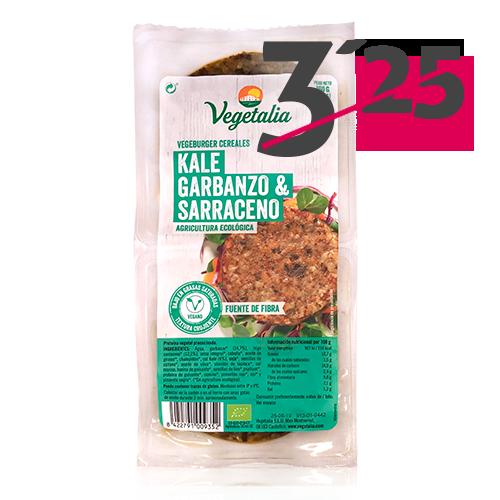 Vegeburguer Cigró i Kale Bio (160 g) Vegetalia