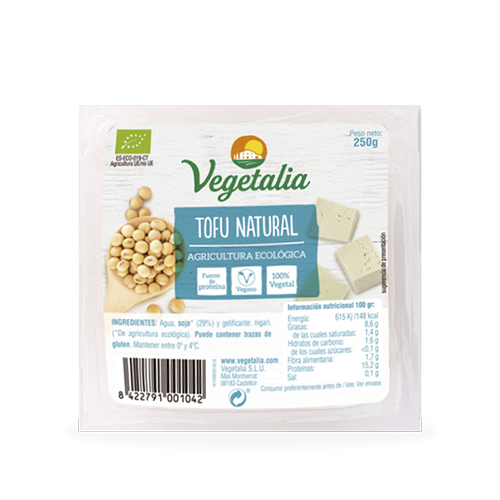 Tofu Fresco Bio (250 g) Vegetalia