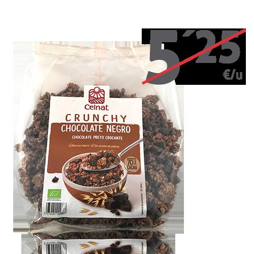 Crunxy Chocolate Negro Bio (500g) Celnat