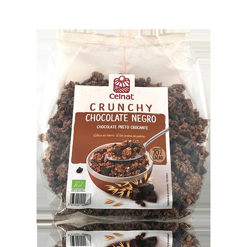 Crunxy Chocolate Negro Bio (500 g) Celnat