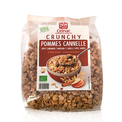 Crunxy Poma i Canyella Bio (500g) Celnat