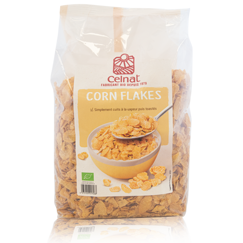 Corn Flakes Bio (375 g) Celnat