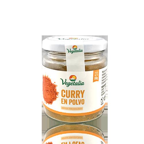 Curry en Povo Bio (80g) Vegetalia
