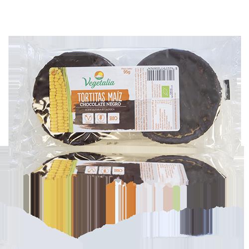 Coques de Blat de Moro amb Xocolata Negra (95 g) Vegetalia