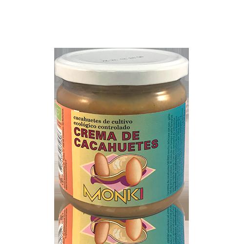 Crema de Cacahuete Bio (330g) Monki