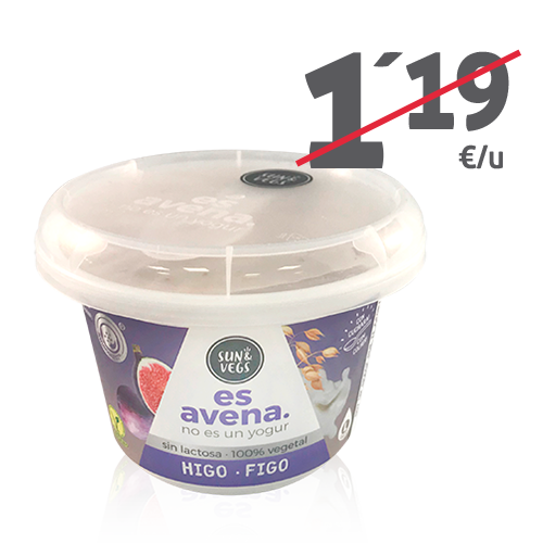 Crema de Avena Higo (180g) Es Avena