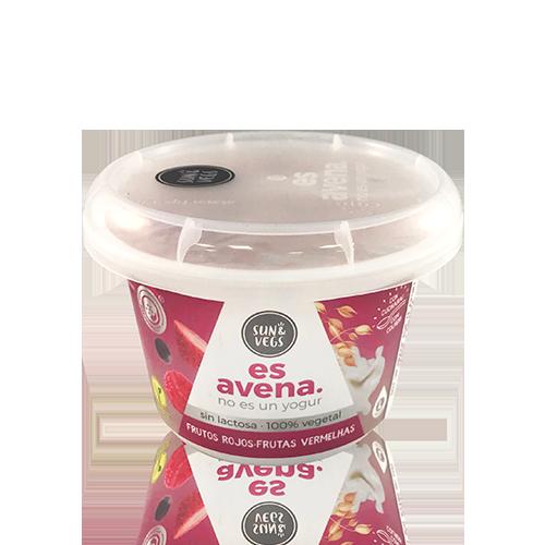 Crema de Civada Fruits Vermells (180 g) Es Avena