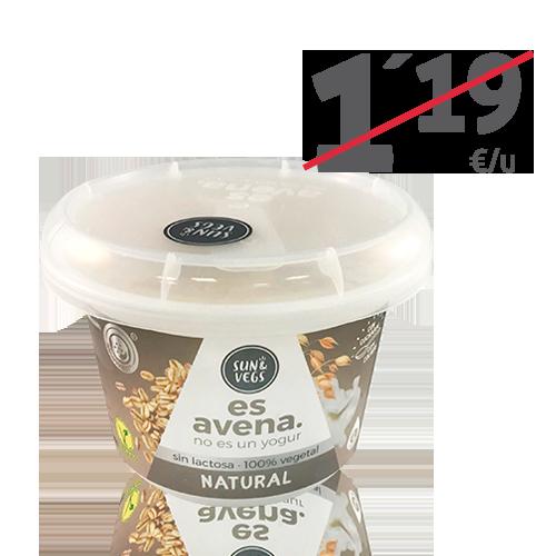Crema de Avena Natural (180g) Es Avena