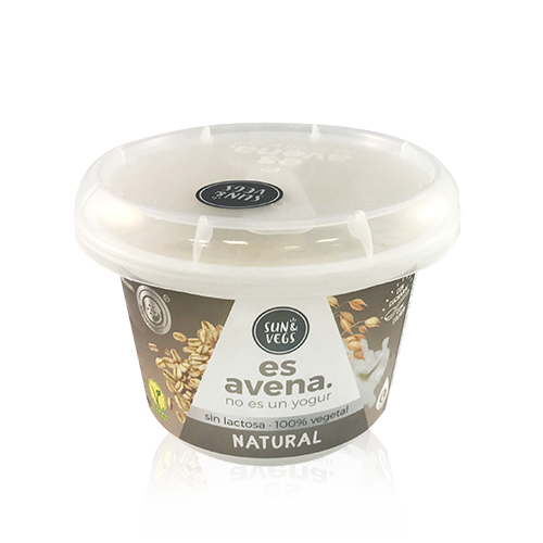 Crema de Civada Natural (180g) Es Avena