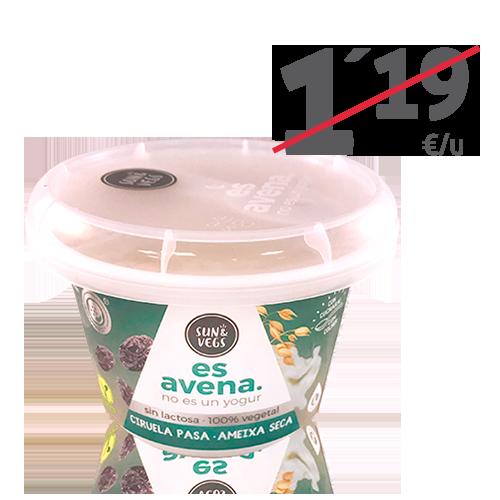 Crema de Avena Ciruela (180g) Es Avena