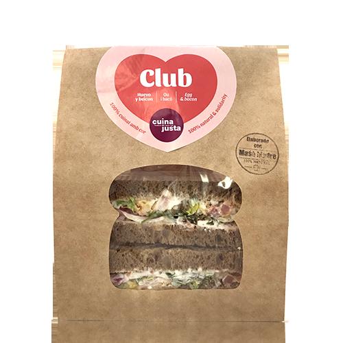Sandwich Club (210 g) Cuina Justa