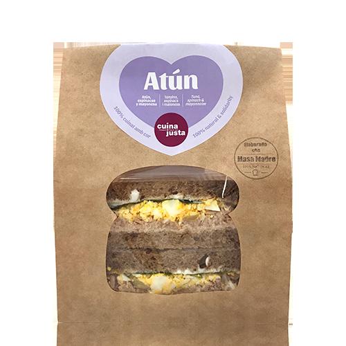 Sandwich Atún (200 g) Cuina Justa