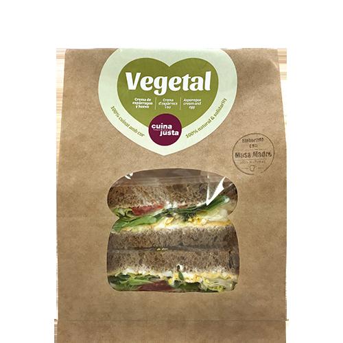 Sandwich Vegetal (220 g) Cuina Justa