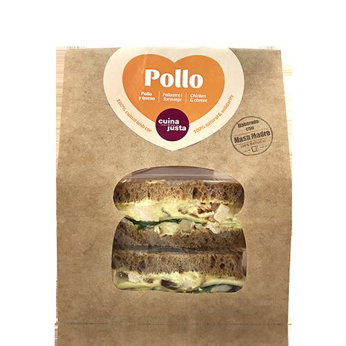 Sandwich Pollo (195 g) Cuina Justa