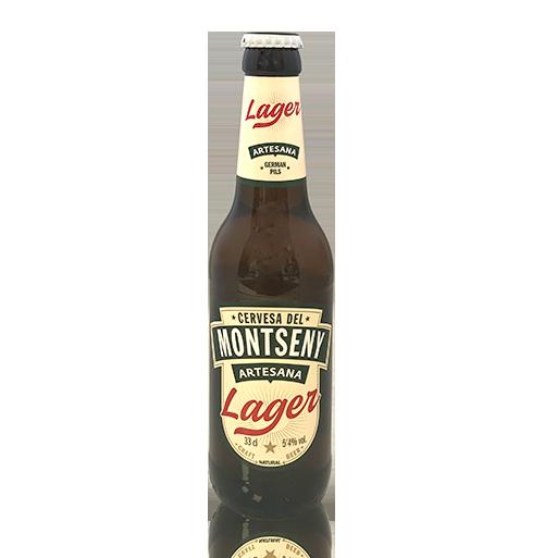 Cervesa Lager (33 cl) Montseny