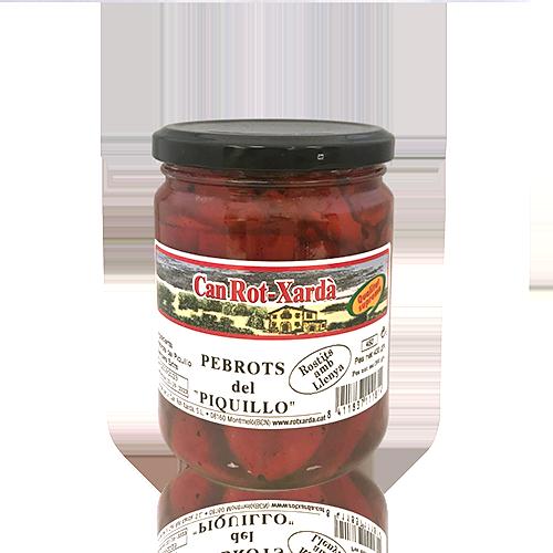 Pebrots del Piquillo (450 g) Can Rot-Xardà