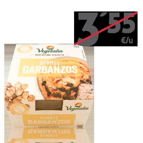 Hummus Fresc de Cigró Bio (240 g) Vegetalia