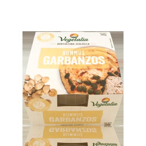 Hummus Fresco de Garbanzo Bio (240 g) Vegetalia