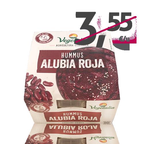Hummus Fresc de Mongeta Vermella Bio (240 g) Vegetalia