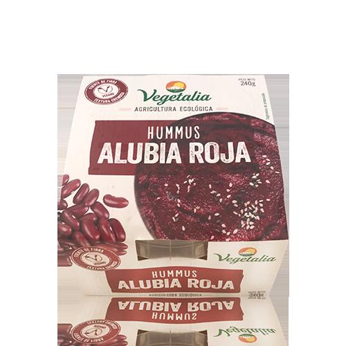 Hummus Fresco de Judía Roja Bio (240 g) Vegetalia