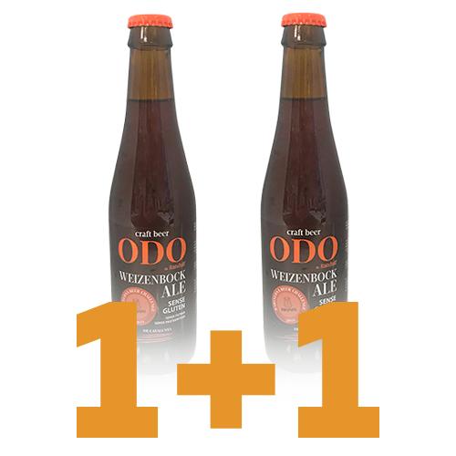 1+1 Cerveza Artesana ODO de Randulf Weizenbock Ale (33 cl)