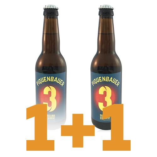 1+1 Cerveza Piquenbauer (33 cl) Bcn Beer Company