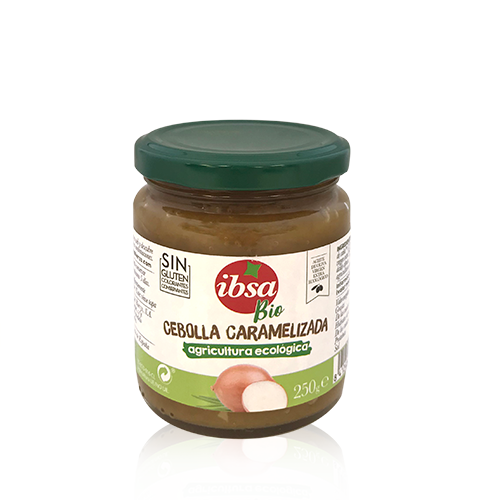 Cebolla Caramelizada Bio (250 g) Ibsa