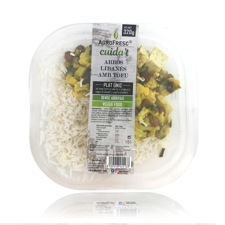 Arroz Libanés con Tofu (320 g) Agrofresc