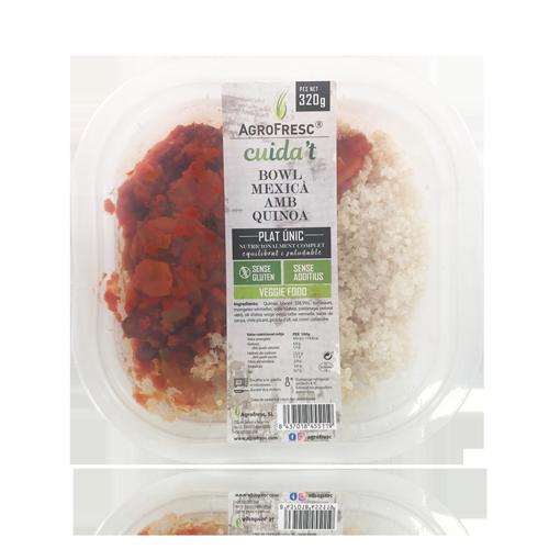 Bowl Mejicano con Quinoa (320 g) Agrofresc