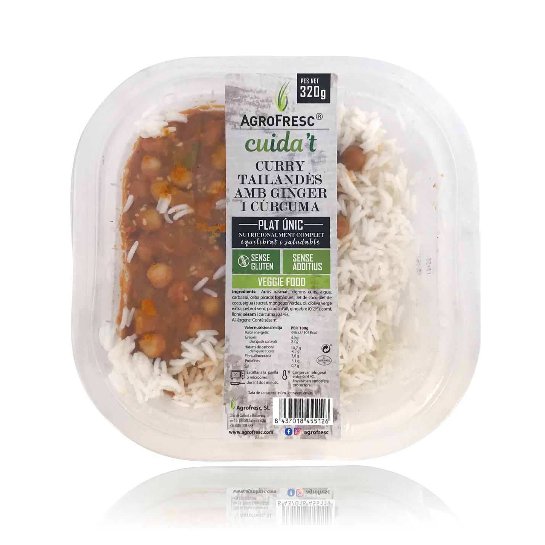 Curry Tailandès (320 g) Agrofresc