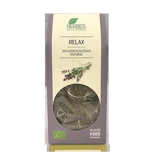 Infusió Relax Bio (12 u) Herbes de la Conca