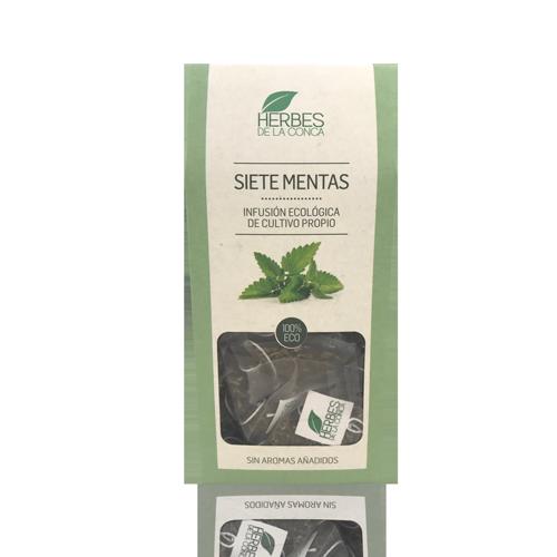 Infusión Menta Bio (12 u) Herbes de la Conca