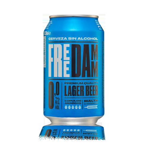 Cervesa Free Damm Llauna 33cl