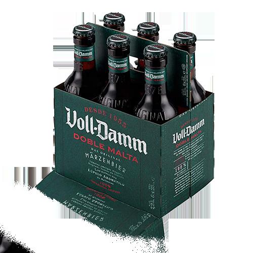 Cervesa Voll Damm Ampolla Vidre 25cl (pack 6)